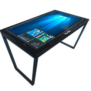 Черный сенсорный стол
