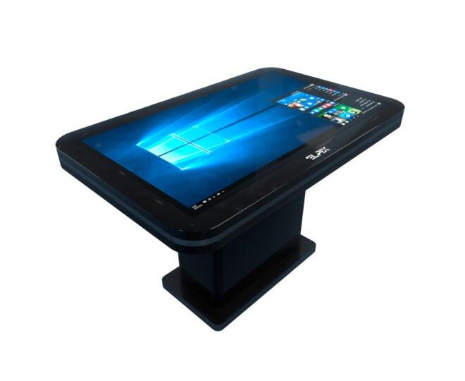 Черный сенсорный стол S2_1