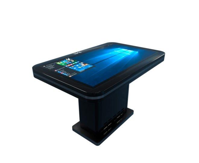Черный сенсорный стол S2_3