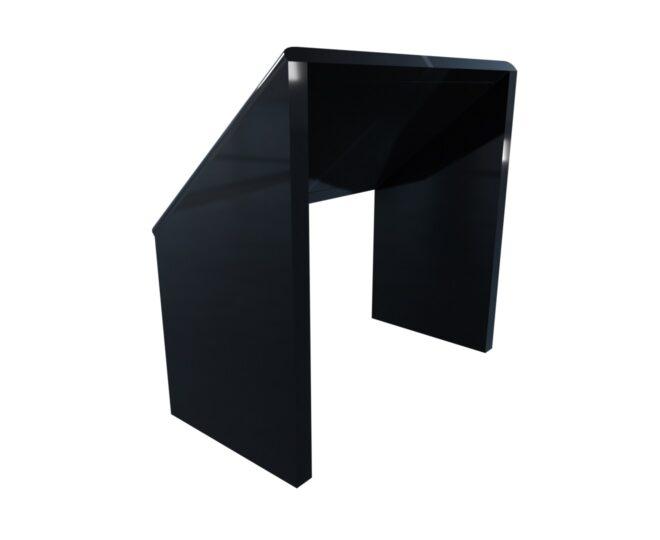 Черная сенсорная стойка с тач дисплеем_3