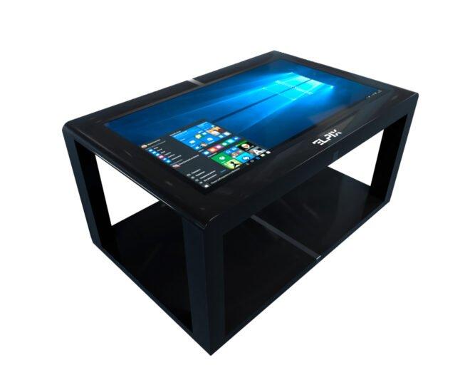 Черный сенсорный стол Elpix S12_1