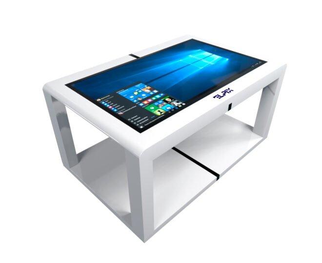 Белый сенсорный стол от прроизводителя_1