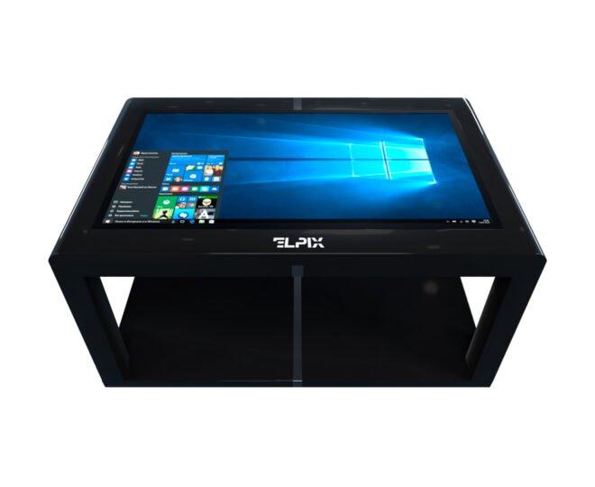 Черный сенсорный стол Elpix S12_2