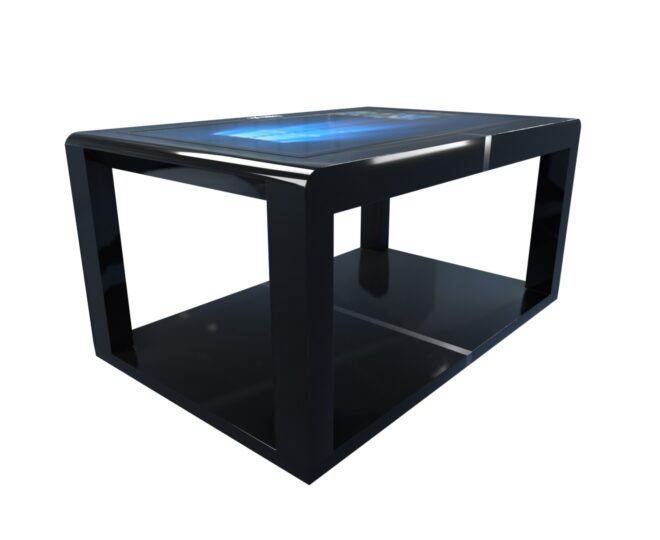 Черный сенсорный стол Elpix S12_3