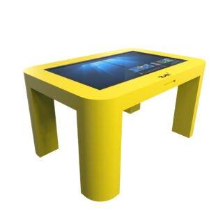 Интерактивный стол для детей желтый_4