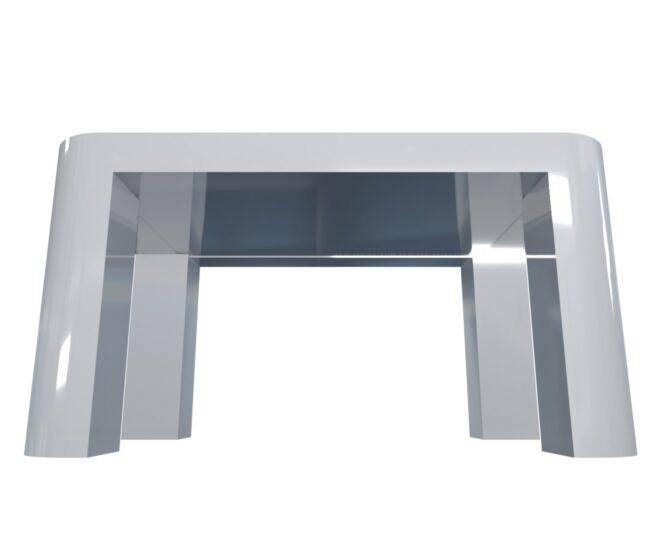 Интерактивный стол для детей белый_4