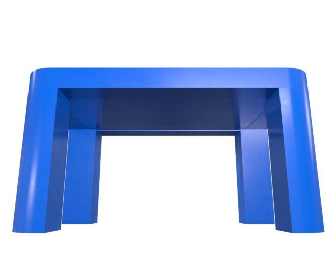 Интерактивный стол для детей синий_4