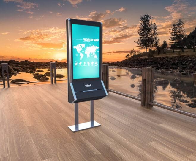 Интерьерные фото терминала самообслуживания Elpix U4