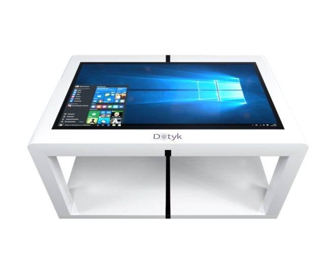 Белый сенсорный стол от прроизводителя_4