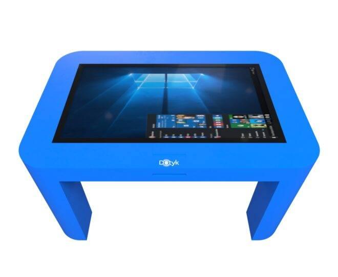 Интерактивный стол для детей синий_2