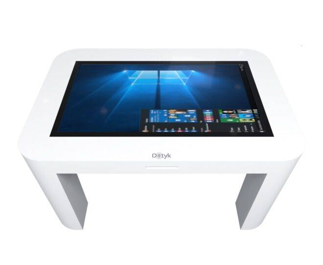 Интерактивный стол для детей белый_2