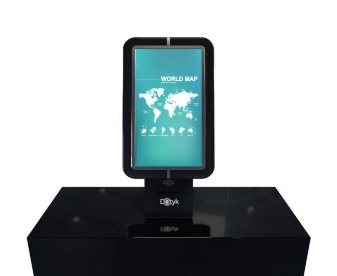 Интерактивный киоск черный_2