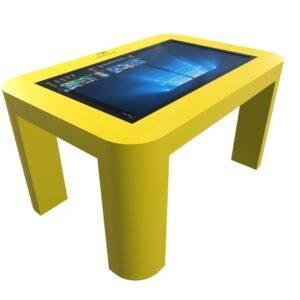 Интерактивный стол для детей желтый_2