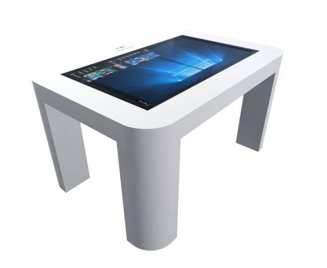 Интерактивный стол для детей белый_3