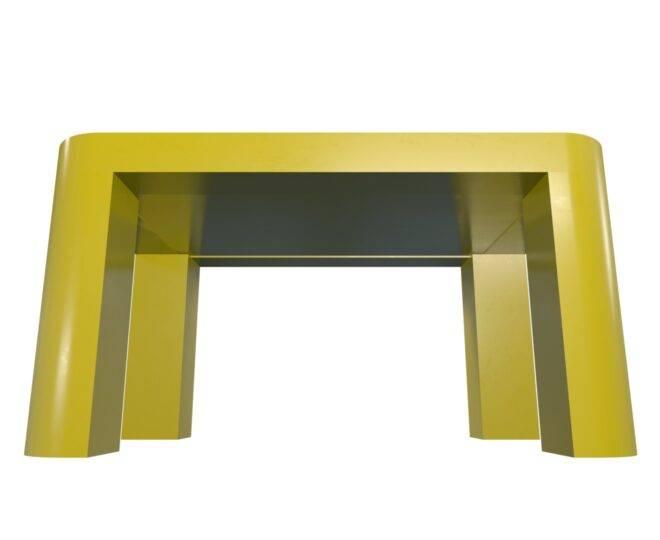 Интерактивный стол для детей желтый_1