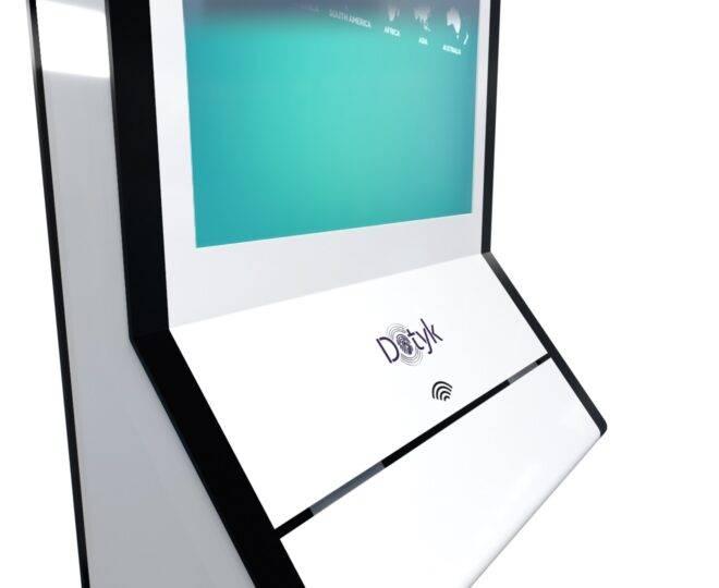 Интерактивный сенсорный терминал самообслуживания Elpix U4_1