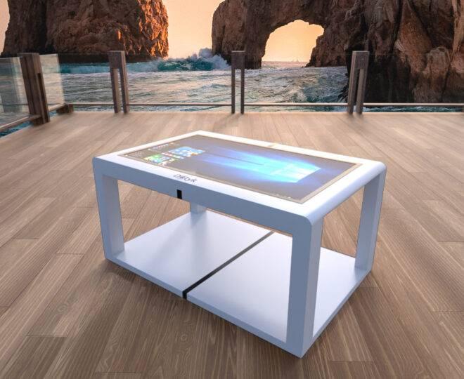 Интерьерные фото сенсорного стола Elpix S12