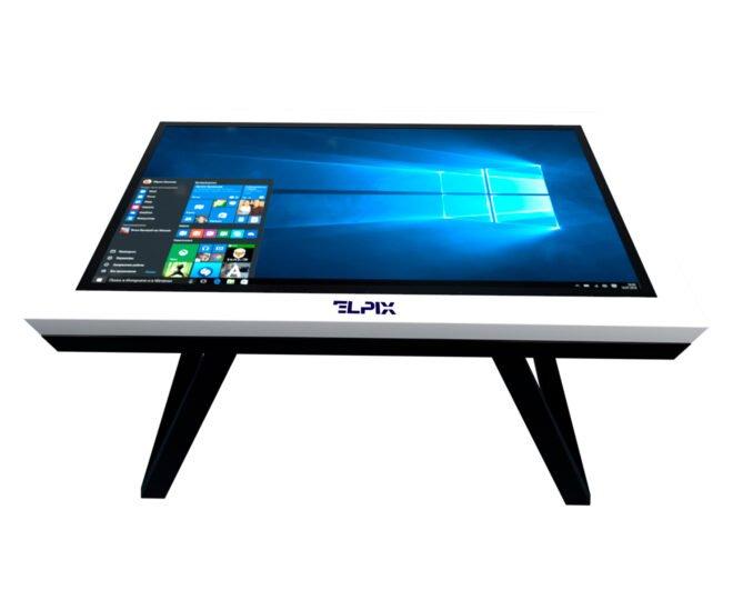 Белый интерактивный стол Elpix_S10_2