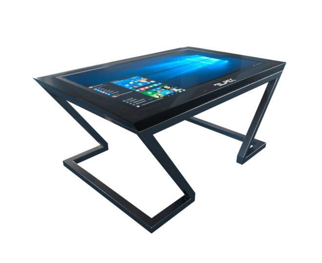 Черный интерактивный стол Elpix_S6_1