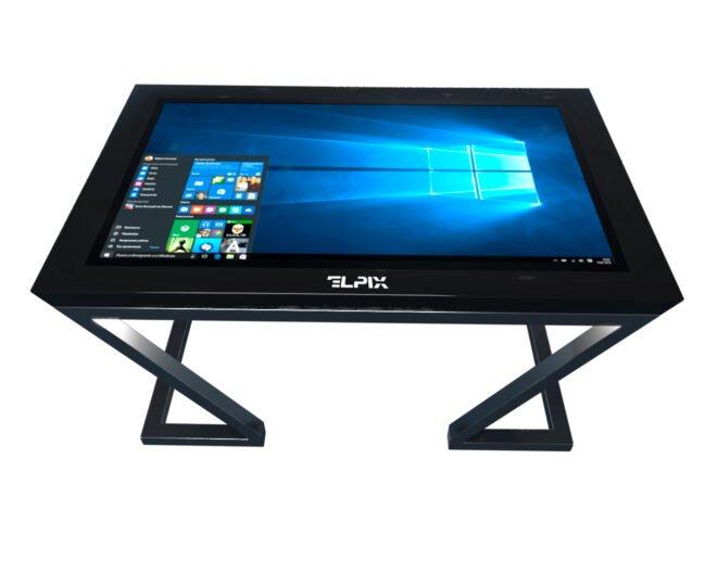 Черный интерактивный стол Elpix_S6_2