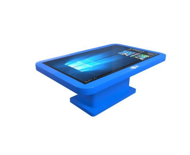 Интерактивный детский стол синий_1