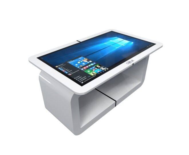 Белый сенсорный стол ElpixS14_1
