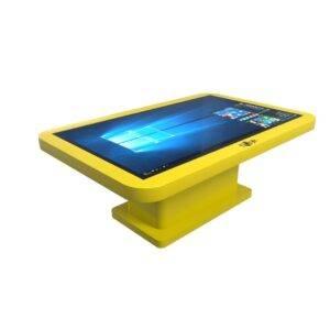 Интерактивный детский столик желтый_1