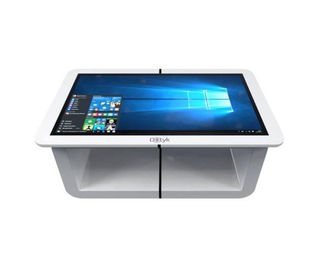 Белый сенсорный стол ElpixS14_2