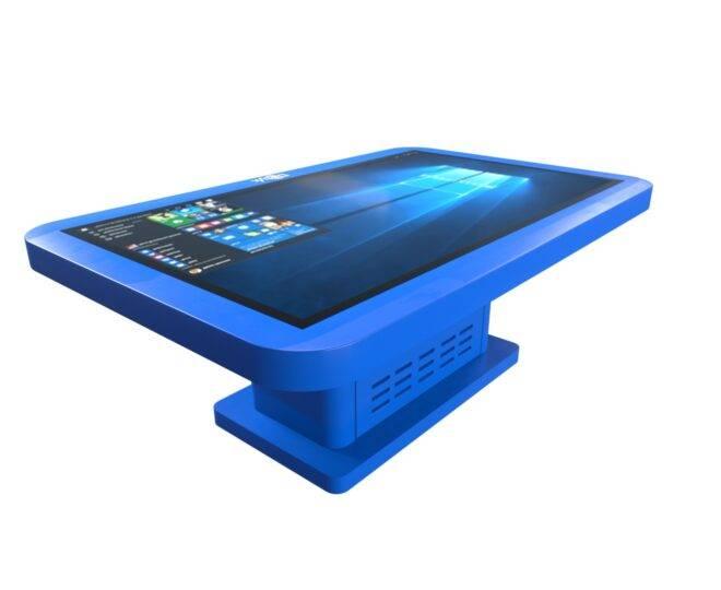 Интерактивный детский стол синий_3