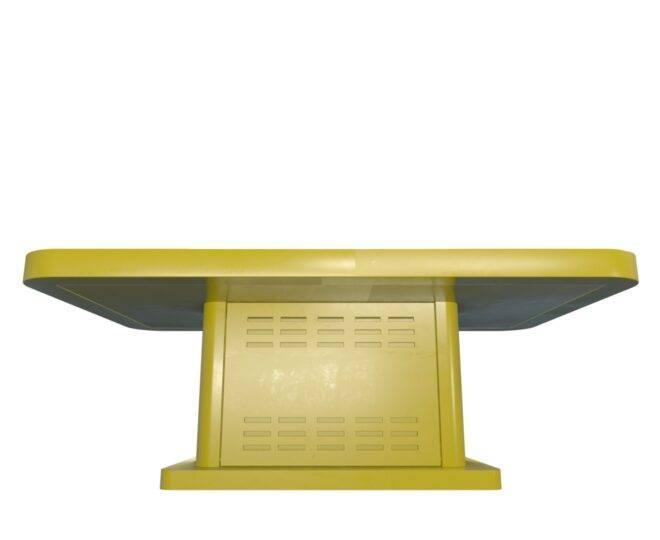 Интерактивный детский столик желтый_4