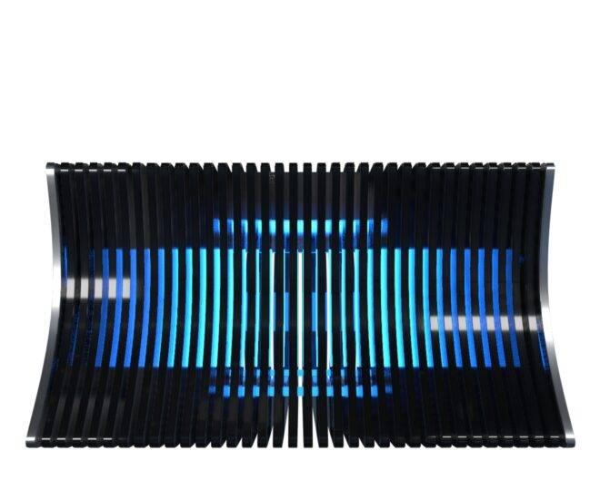 Параметрический стол с сенсорным экраном черный_1