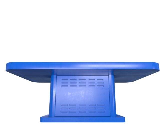 Интерактивный детский стол синий_4