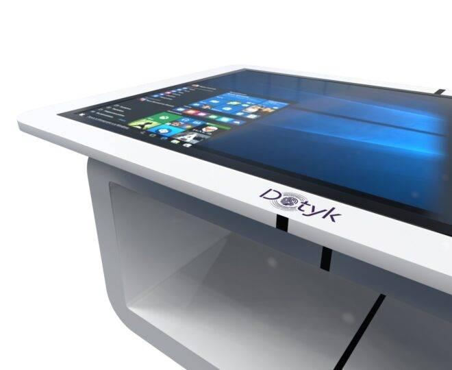 Белый сенсорный стол ElpixS14_3
