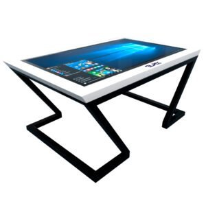 Тач стол с сенсорный дисплеем белый_4