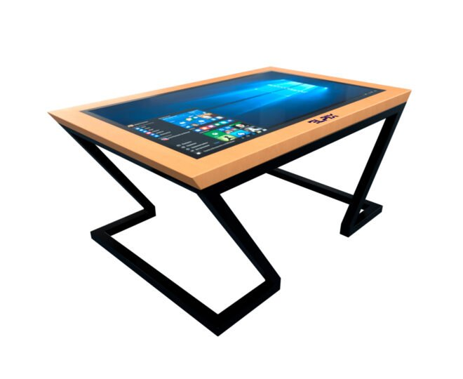 Інтерактивний стіл Elpix S6 із дерев'яним корпусом_1