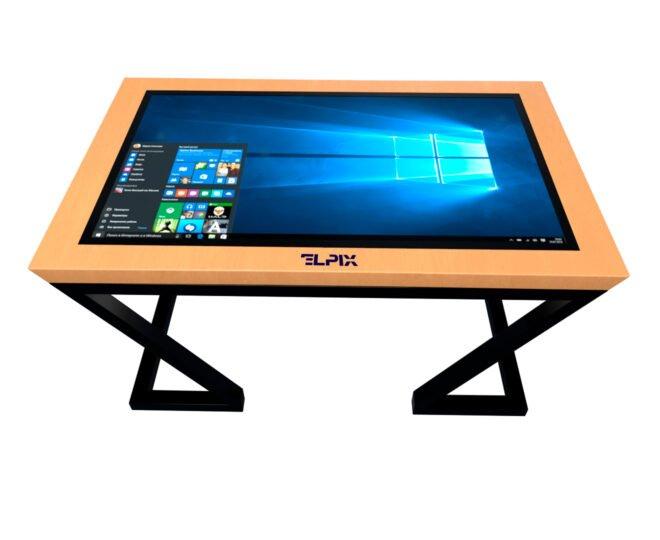 Інтерактивний стіл Elpix S6 із дерев'яним корпусом_2