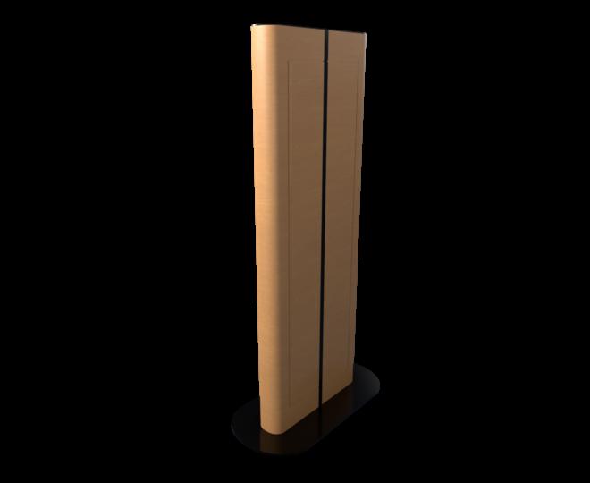 Вертикальная интерактивная стойка из дерева_3