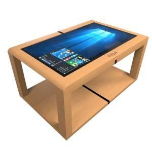 Інтерактивний сенсорний стіл з дерев'яним корпусом Elpix S12_1