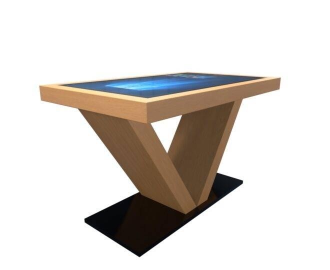 Сенсорный стол S4 дерево 43 дюйма_3
