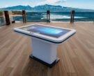 Интерьерные фото белого интерактивного стола Elpix S2