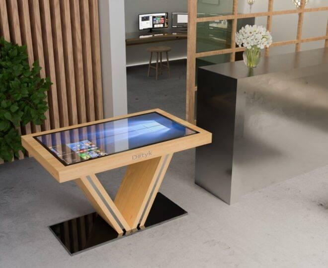Сенсорный стол S4 дерево 43 дюйма_5