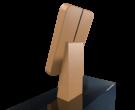 Компактный терминал Elpix U5 из дерева_3