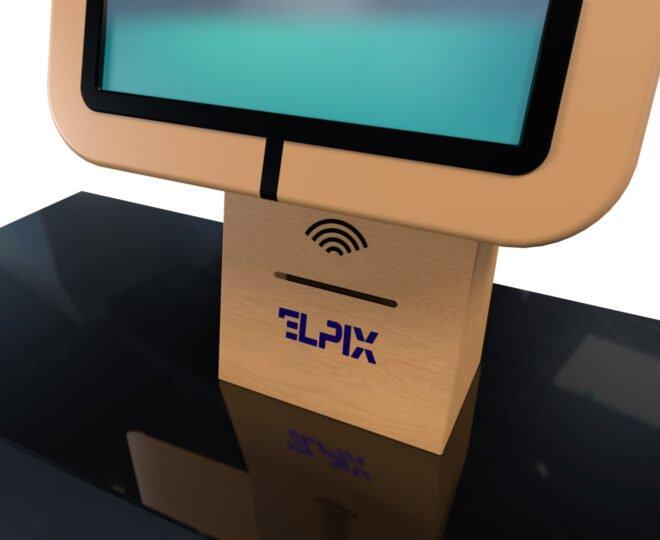 Компактный терминал Elpix U5 из дерева_4